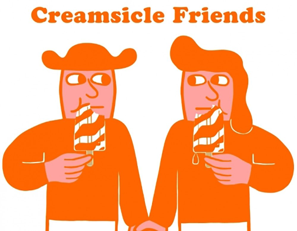 Creamsicle Friends