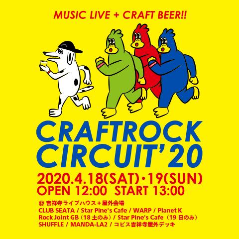CRAFTROCK CIRCUIT'20