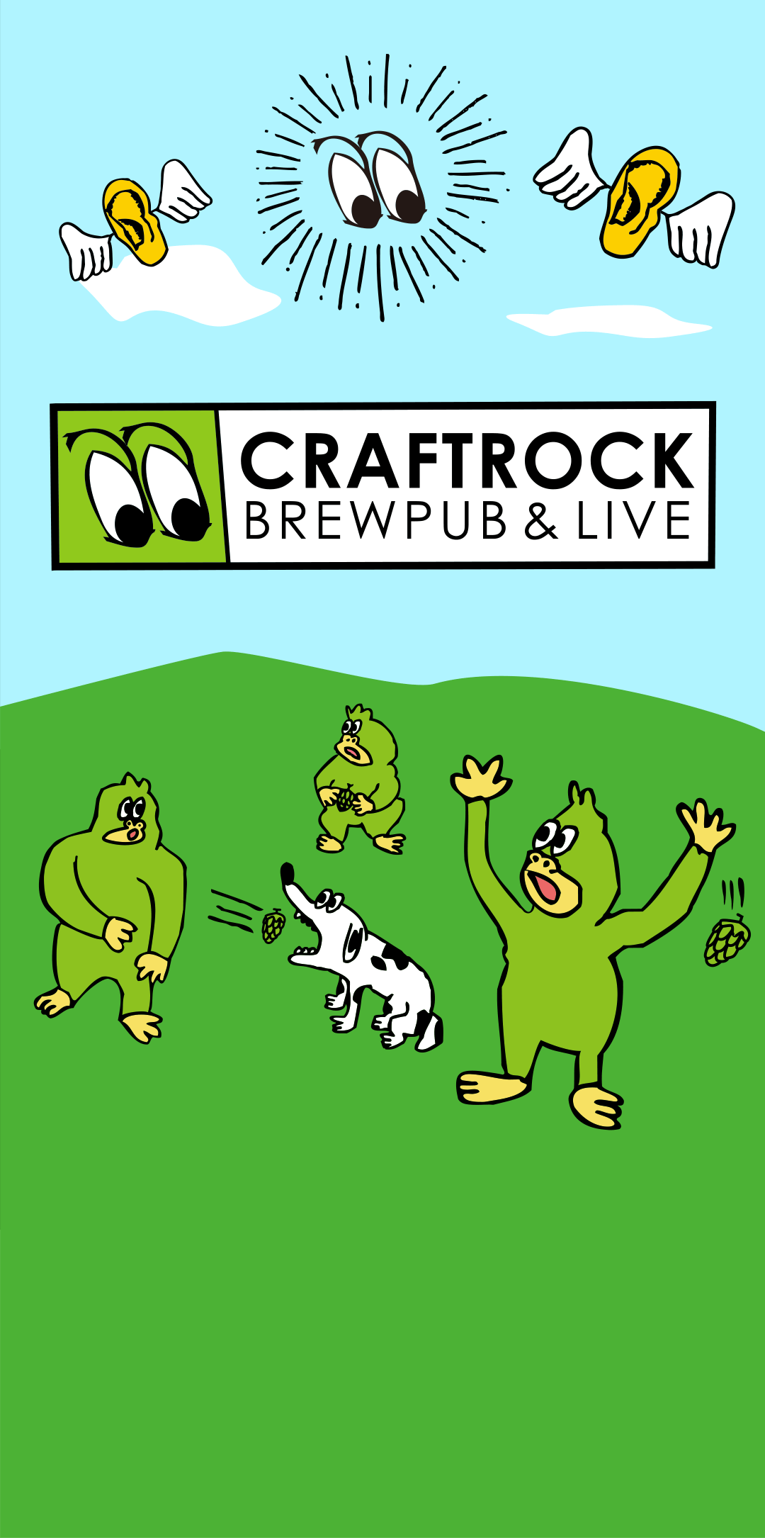 CRAFTROCK BREWPUB&LIVE FRESH BEER, STEAK & MUSIC LIVE!!