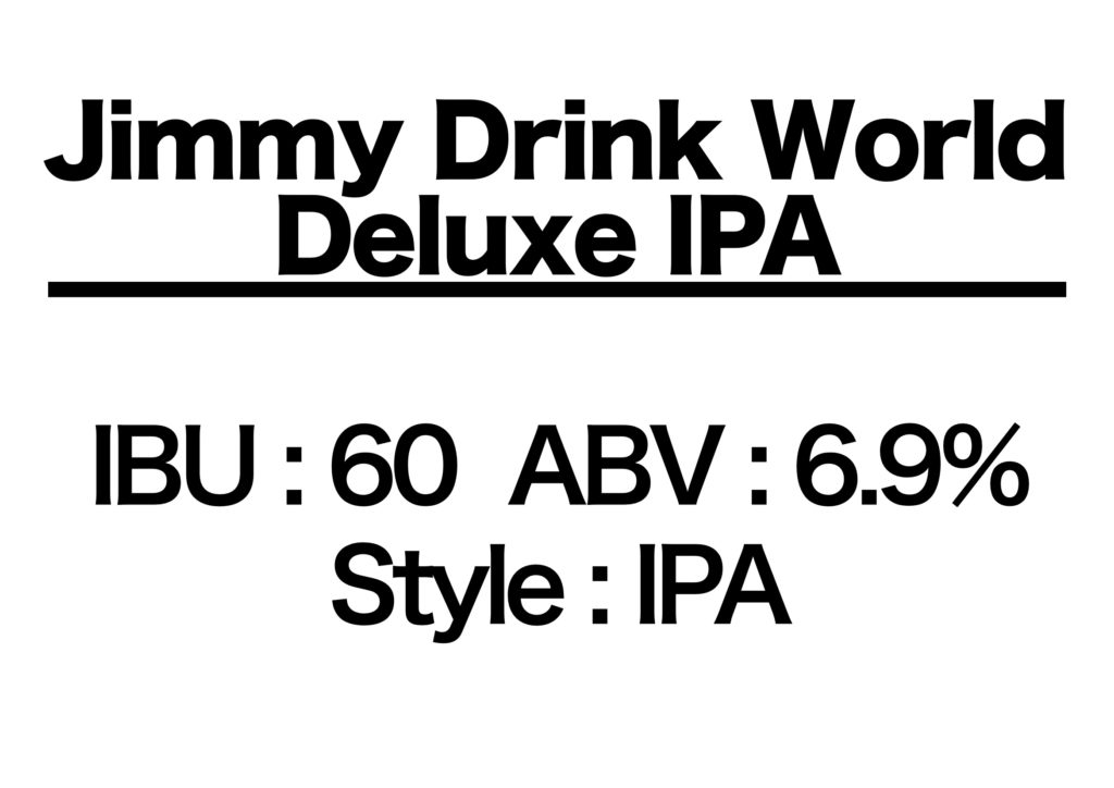 #18 Jimmy Drink World