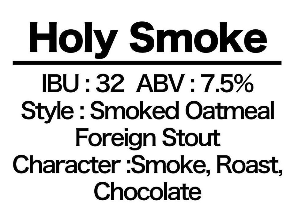 #6 Holy Smoke!