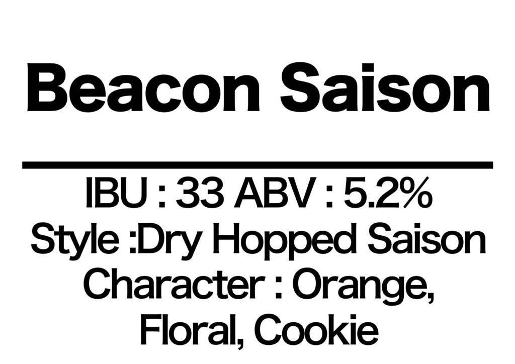 #20 Beacon Saison