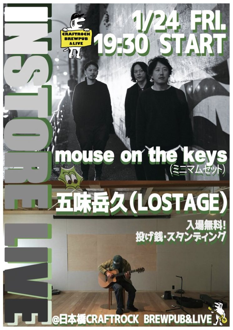 mouse on the keys(ミニマムセット)、五味岳久(LOSTAGE)<br></noscript><img class=