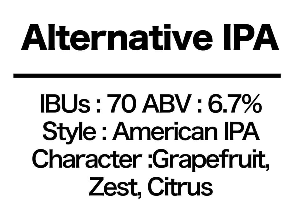 #29 Alternative IPA