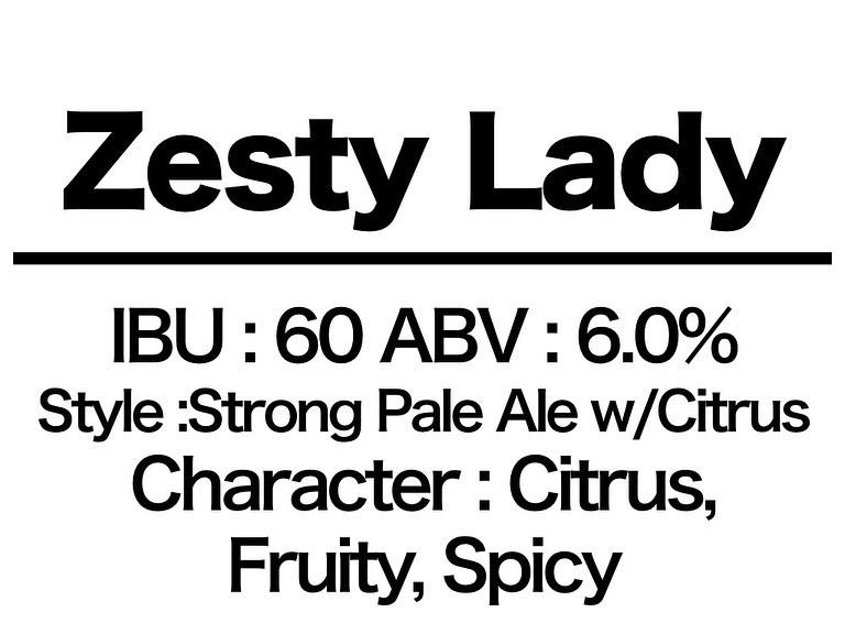 #30 Zesty Lady