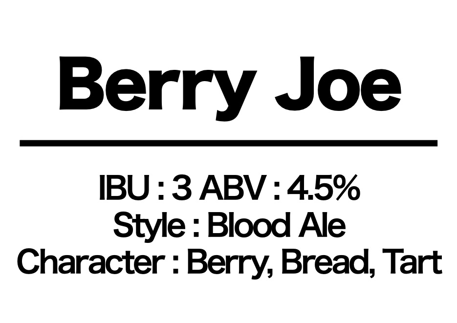 #38 Berry Joe
