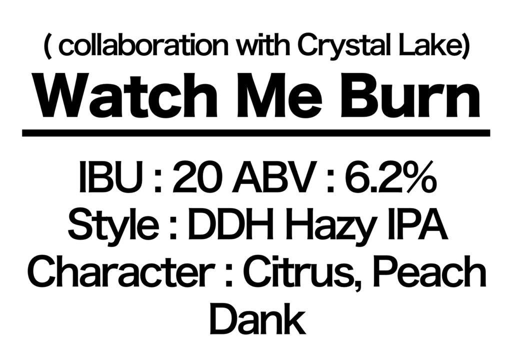 #73 Watch Me Burn