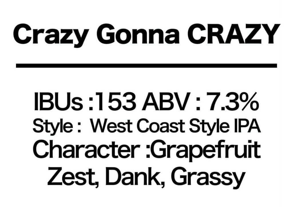 #87 Crazy Gonna CRAZY