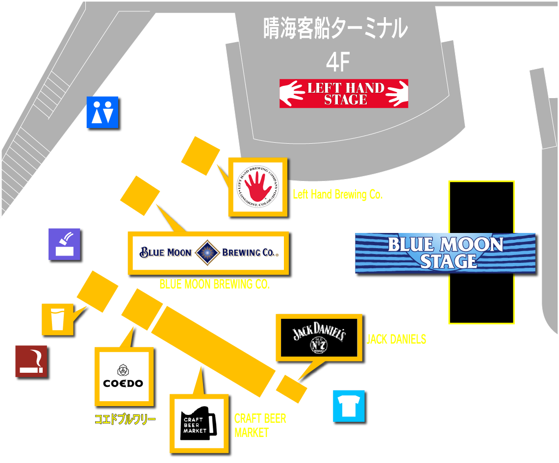 BLUE MOON STAGE エリア 詳細