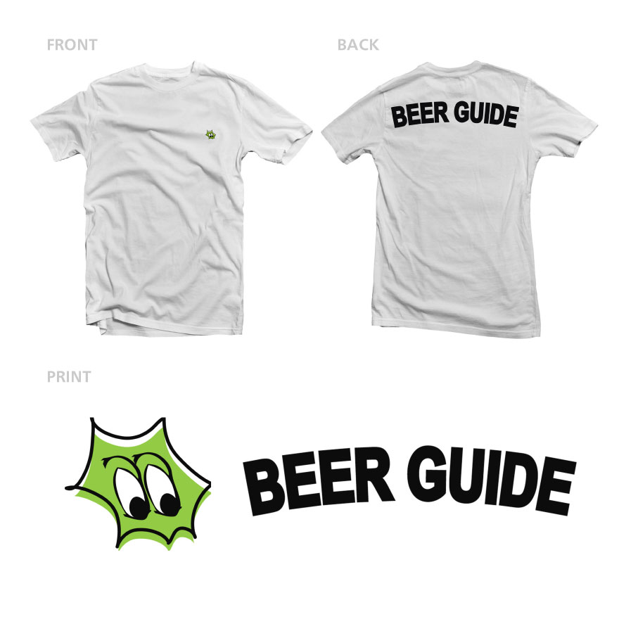 CRAFTROCK BEER GUIDE S/S TEE WHITE