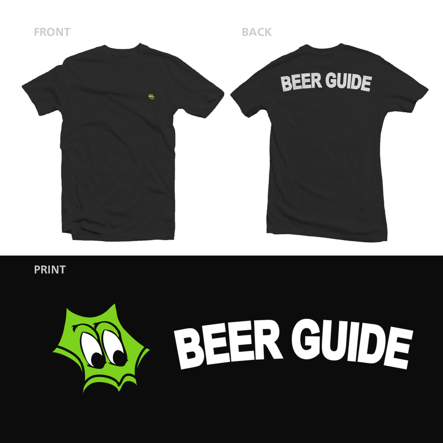 CRAFTROCK BEER GUIDE S/S TEE BLACK